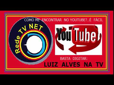 REDE  TV  NET  LUIZ  ALVES  NA  TV