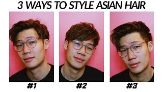 3 Ways To Style Asian Hair