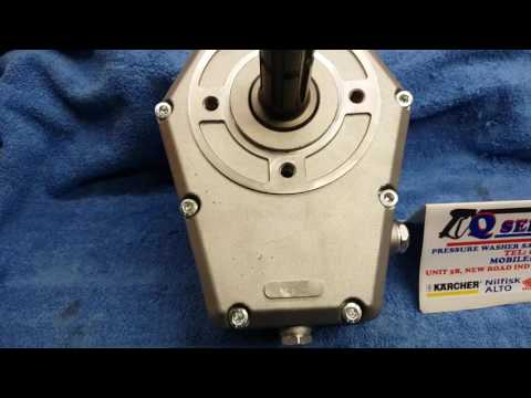 QWASHERS YOUTUBE UDOR MTP125 PTO REDUCTION 1:2 5 RATIO