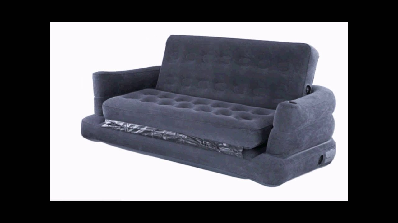 Beanless Sofa Air Chair Memphis Double Cushion Futon Bed Intex 2 Person Inflatable Youtube