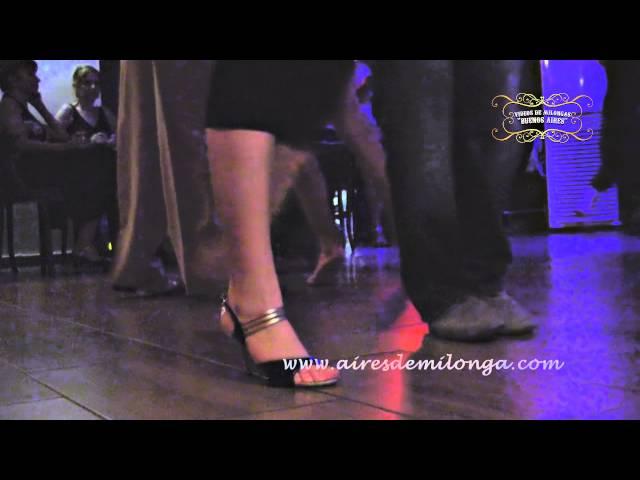Istambul, La Cumparsita milonga tango dancers, Tango in Turquia