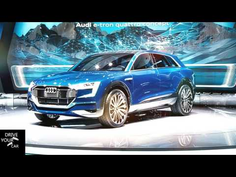 COMING SOON! Audi's fully electric SUV!