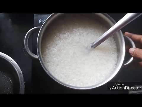 Rice - Traditional & Healthy method to cook rice | destarched |Recipe#212)