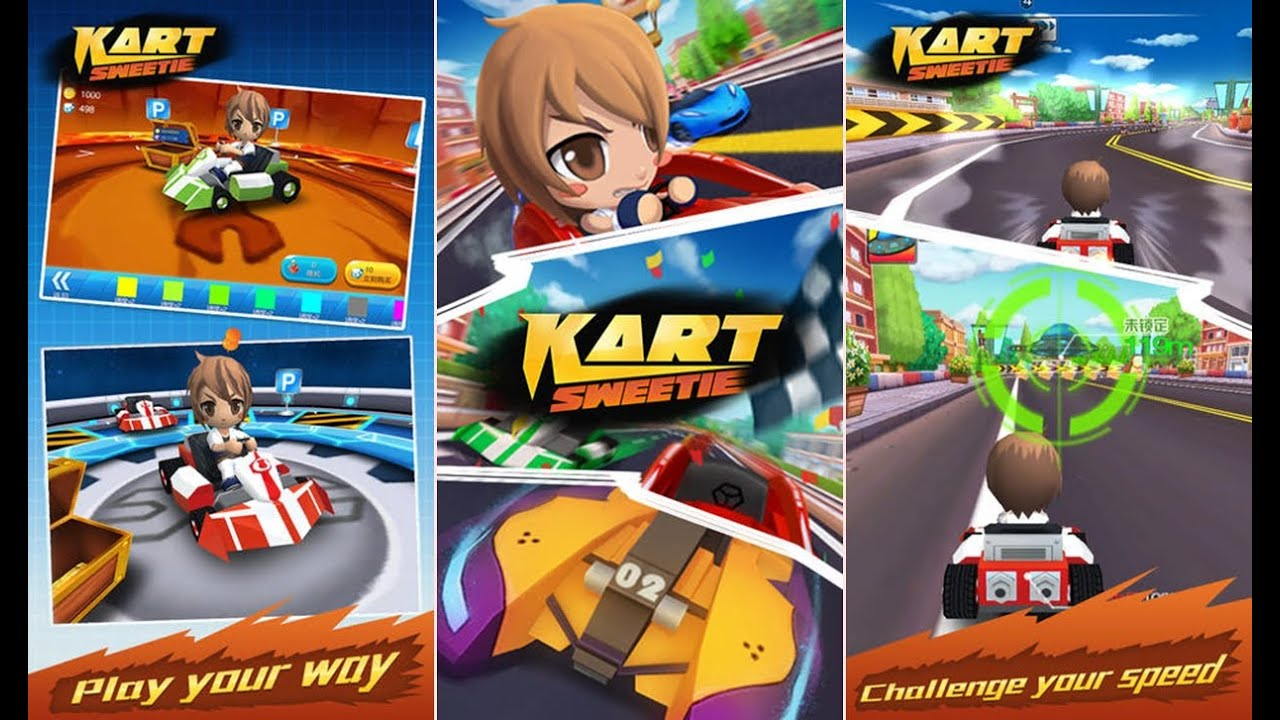 ios kart Kart Sweetie   Android / iOS Best Go Kart Racing GamePlay   YouTube ios kart