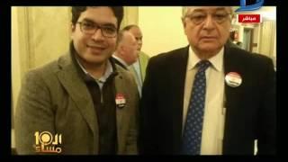 العاشرة مساء| أعضاء مجلس النواب يرفعون شعار تيران وصنافير جزر مصرية