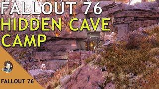 Fallout 76: Hidden Cave Base CAMP