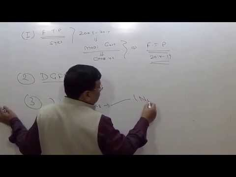 FOREIGN TRADE POLICY -CA DHRUV AGRAWAL
