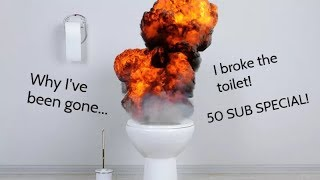 EXPLOSIVE TOILET ACCIDENT - 50 Subscriber Special