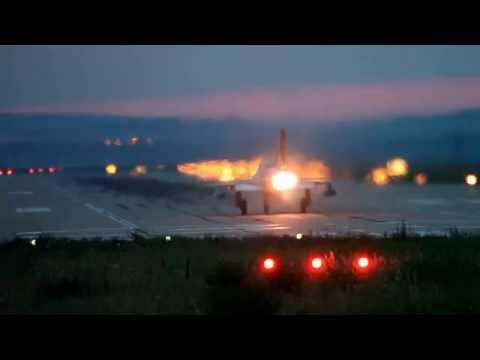 Mig-21 Lancer Night Takeoff
