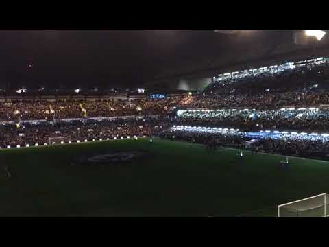 Manchester United fans reaction to Chelsea light show at Stamford Bridge FA Cup