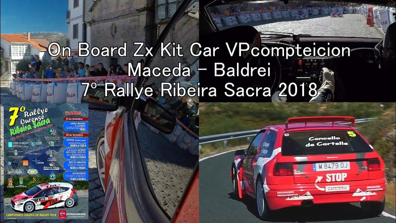 Onboard Zx Kit Car Vpcompeticion Maceda Baldrei Rallye Ribeira