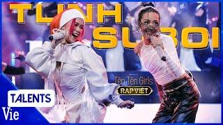 SUBOI - TLINH cháy gắt đêm chung kết Rap Việt với  TÈN TÈN GIRLS , Wowy thốt  cháy bỏng tay