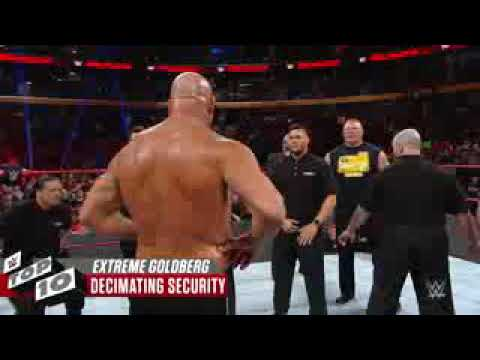 Goldberg _s_most _extreme moment top 10 move of gold berg