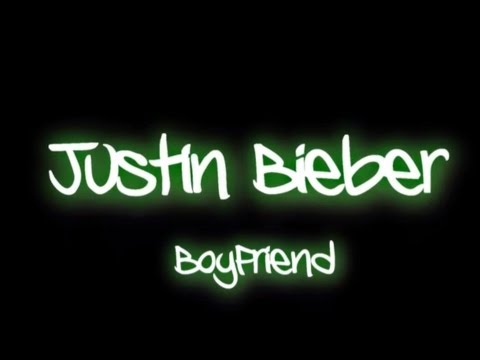 Songtext von Justin Bieber - Boyfriend Lyrics