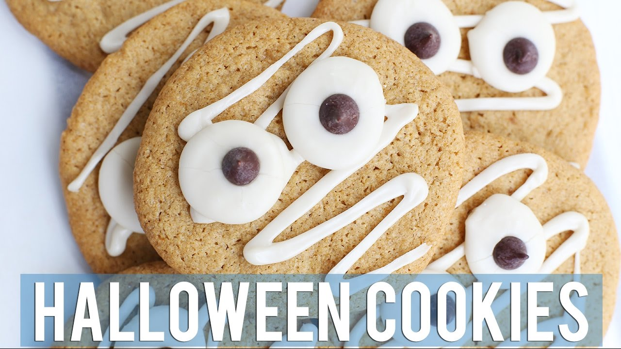 halloween sugar cookies | easy + vegan w/sweetpotatosoul - youtube
