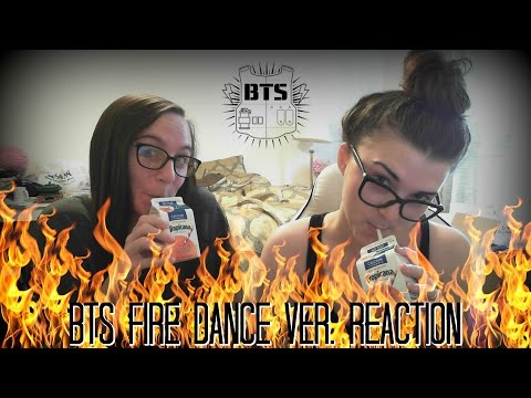 BTS FIRE DANCE VER. REACTION VIDEO