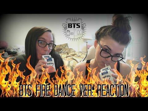 BTS FIRE DANCE VER. REACTION VIDEO