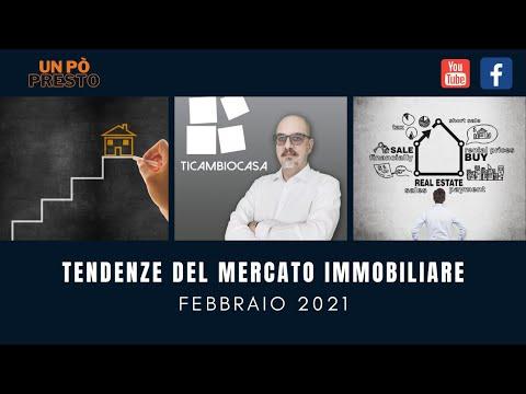 tendenze del mercato immobiliare -  febbraio 2021