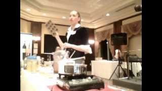 Cooking With Kimberly At The 2012 Women In Finance Event
