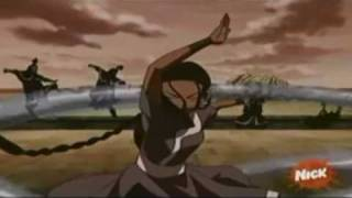 Katara Fights For Her Mother