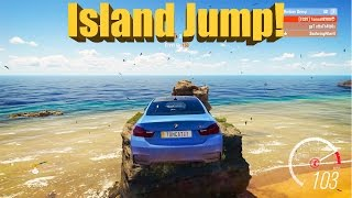 Forza Horizon 3 Demo Jump To ISLAND JUMP EASTER EGG And Secret XP Board