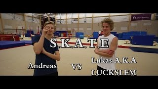Game of S.K.A.T.E in Östersund Arena Andreas VS Lukas feat.Sabina
