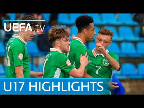 U17 Highlights: Republic of Ireland 2-1 Bosnia & Herzegovina