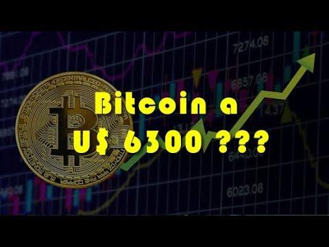 Análise Bitcoin - BTC - 13/04/2019 - Bitcoin a U$ 6300,00???