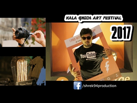 Awesome Kala Ghoda Arts Festival 2017 in Mumbai | shrek94 #010 Vlog