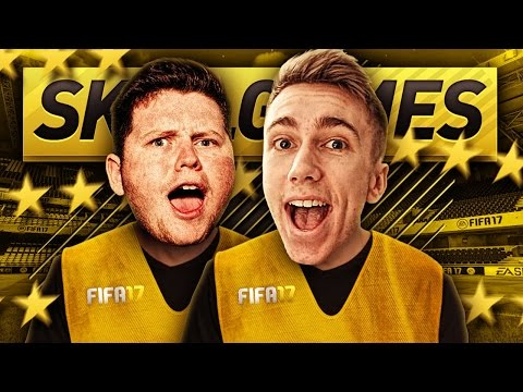FIFA 17 2 PLAYER SKILL GAMES!!