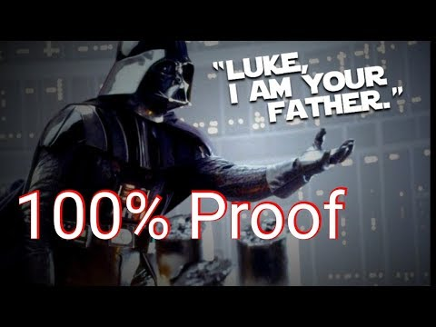 Huge quick proof Luke I am your father( Mandela effect)