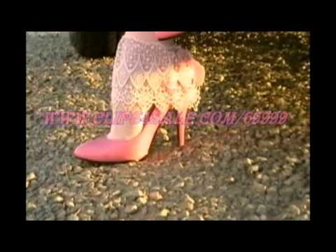54340291973ff Pink patent pumps and amazing frilly socks - YouTube