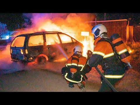 23.04.21 Bilbrand på Lilleø i Korsør