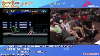 Summer Games Done Quick 2014 - Part 92 - Super Star Wars: Return Of The Jedi