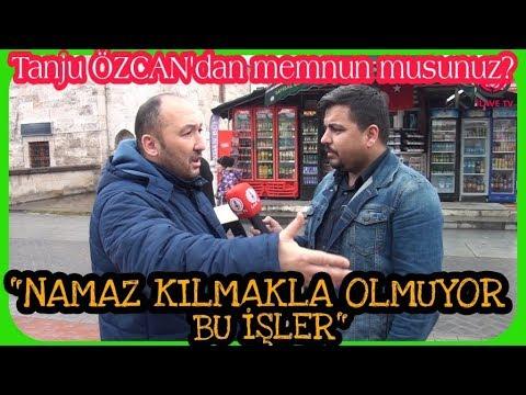 ''CAMİYE GİTMEKLE OLMUYOR BU İŞLER'' (Tanju Özcan'ı Bolu Halkına Sorduk)