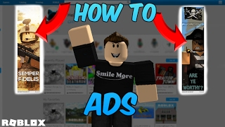 How to make an AD!! | ROBLOX | 2017 (Basic)