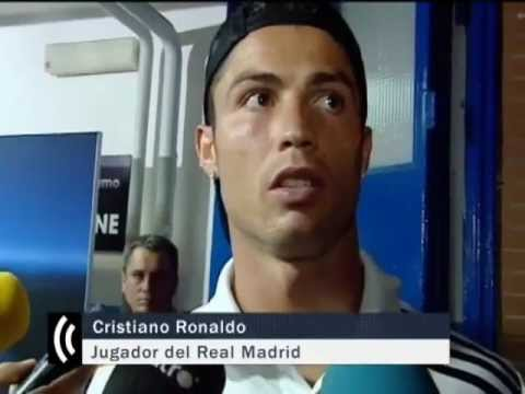 """CR7: """"I'm rich, handsome and a great player"""" """"Soy rico, guapo y gran jugador"""" from YouTube · Duration:  52 seconds"""