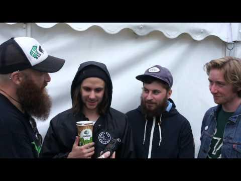 Black Foxxes Reading Festival Interview 2015