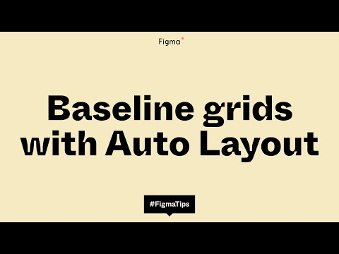 Baseline Grids with Auto Layout