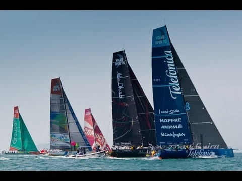 Leg 8: Lisbon Leg Start Live Replay | Volvo Ocean Race 2011-12