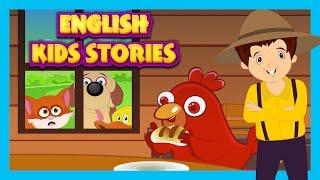 ENGLISH KIDS STORIES - ANIMATED STORY COMPILATION || KIDS HUT STORIES - TIA AND TOFU STORYTELLING