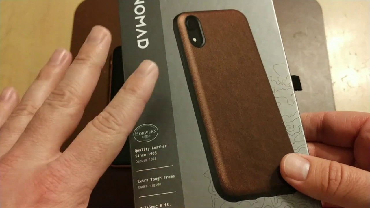 super popular 58997 11373 Nomad Rugged Case for iPhone XR - Full Grain Awesome!