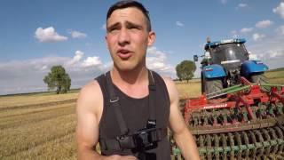 Vlog #17 Żniwa 2017 cz.III (2 awaria new holland, opinia agro-masz, Uprawa)
