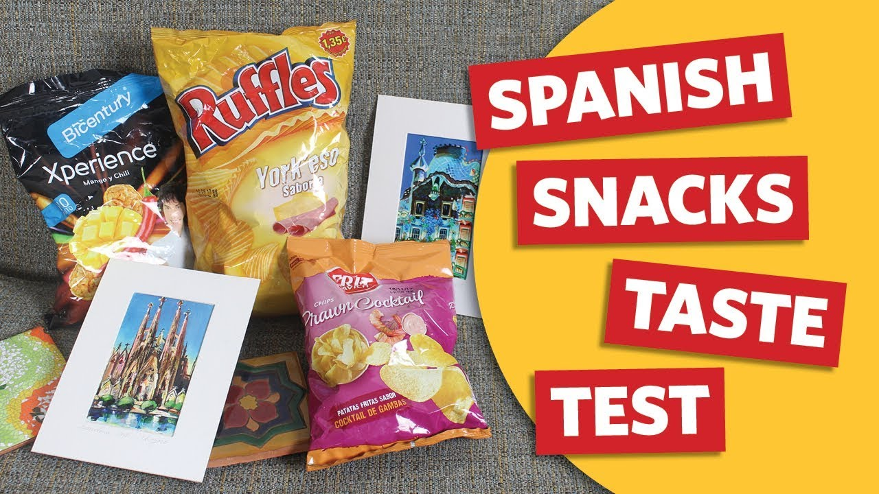 americans try spanish snacks from spain youtube