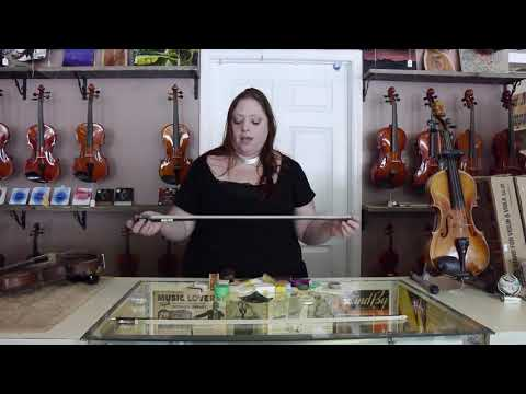 Fiddlers Anonymous - How to Take Care and Rosin a New Bow