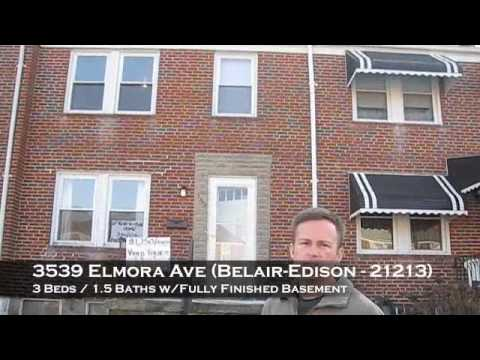 Rent-To-Own Home 3539 Elmora Ave., Baltimore MD 21213 (Belair-Edison)
