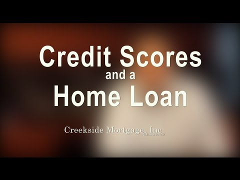 Credit Scores and a Home Loan