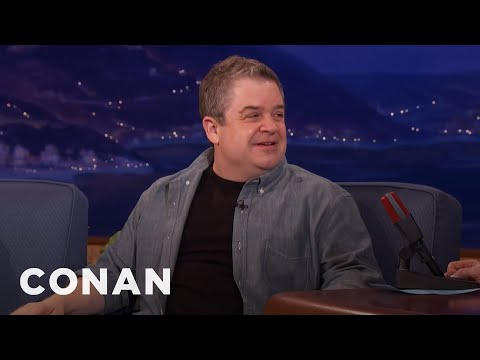 Patton Oswalt Compares Trump To Sour Cream In A Sauna   CONAN on TBS