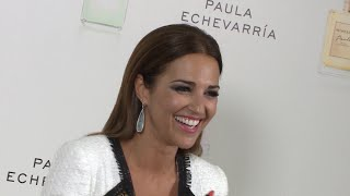 Paula Echevarría reacciona a las fotos de Bustamante y Yana Olina