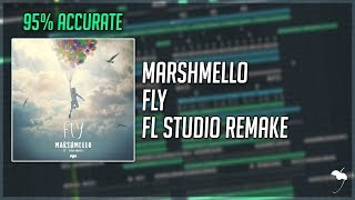 Marshmello - Fly (FL Studio Remake + FLP) [95% Accurate]
